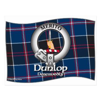 Dunlop Clan Postcard