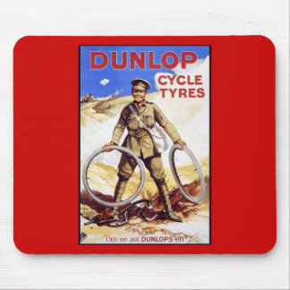 Dunlop Cycle Tyres Mouse Pad