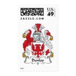 Dunlop Family Crest Postage Stamp