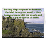 dunluce, Be they kings or poets or farmers, the... Greeting Card