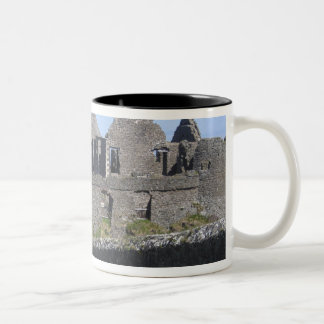Dunluce Castle near Bushmills and Portrush, 2 Two-Tone Coffee Mug