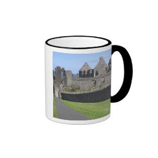 Dunluce Castle near Bushmills and Portrush, 2 Ringer Coffee Mug