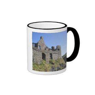 Dunluce Castle near Bushmills and Portrush, 3 Ringer Coffee Mug