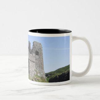 Dunluce Castle near Bushmills and Portrush, 3 Two-Tone Coffee Mug
