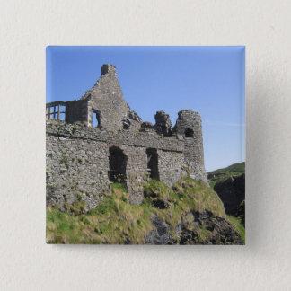 Dunluce Castle near Bushmills and Portrush, 3 Pinback Button