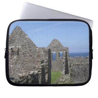 Dunluce Castle near Bushmills and Portrush, Laptop Sleeve
