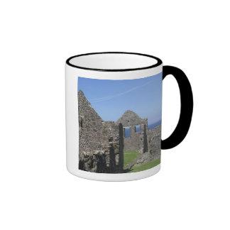 Dunluce Castle near Bushmills and Portrush, Ringer Coffee Mug