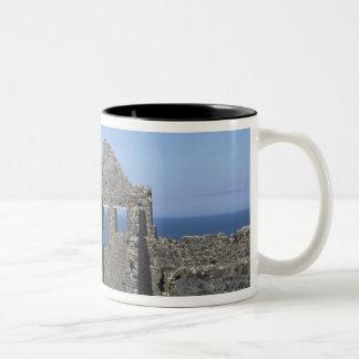 Dunluce Castle near Bushmills and Portrush, Two-Tone Coffee Mug