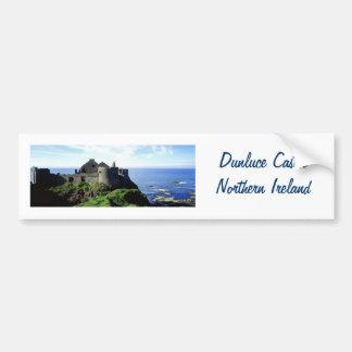 Dunluce Castle-Northern Ireland Bumper Sticker