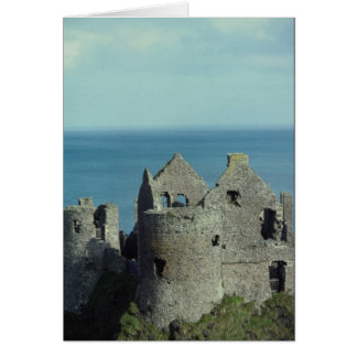 Dunluce Castle, northern Ireland Greeting Cards
