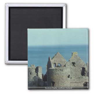 Dunluce Castle, northern Ireland 2 Inch Square Magnet