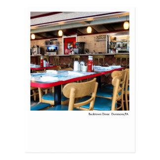 Dunmore, PA Postcard-Bucktown Diner Postcard