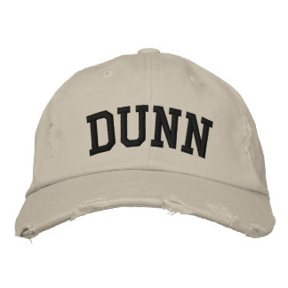 Dunn Embroidered Hat Embroidered Hat