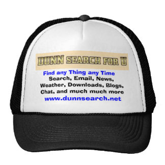 DUNN hat for U