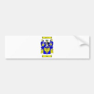 Dunn (Irish) Coat of Arms Bumper Sticker