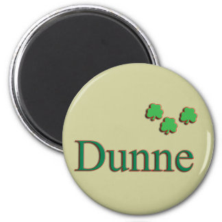 Dunne Family 2 Inch Round Magnet