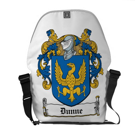 Dunne Family Crest Courier Bag