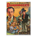 DUNNINGER PULP MAGAZINE COVER CARD