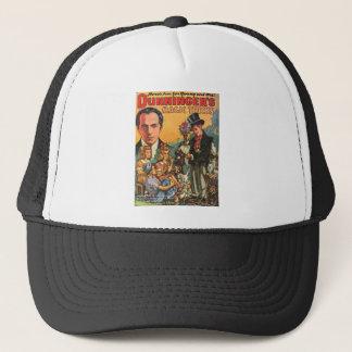 DUNNINGER PULP MAGAZINE COVER TRUCKER HAT