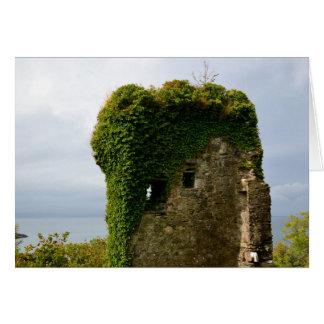 Dunnollie Castle, Oban, Scotland Card