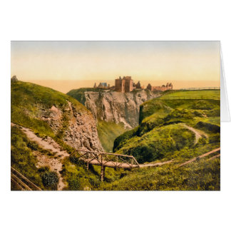 Dunnottar Castle Stonehaven Scotland Card