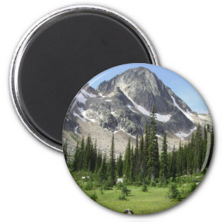 Dunn's Peak (Matterhorn Peak) 2 Inch Round Magnet