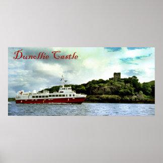 dunollie castle poster