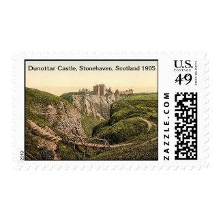 Dunottar Castle, Stonehaven, Scotland 1905 Postage