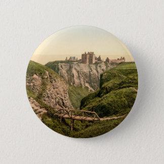Dunottar Castle, Stonehaven, Scotland Button