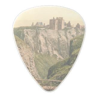 Dunottar Castle, Stonehaven, Scotland Polycarbonate Guitar Pick