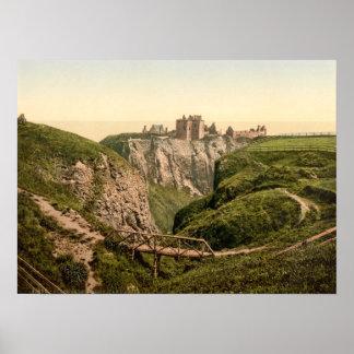 Dunottar Castle, Stonehaven, Scotland Print