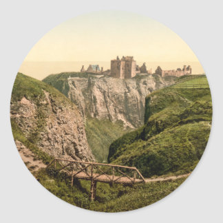 Dunottar Castle, Stonehaven, Scotland Sticker