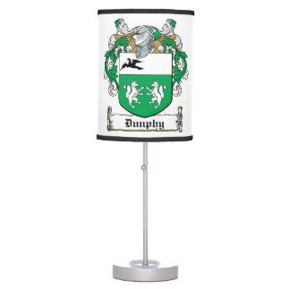 Dunphy Family Crest Desk Lamp