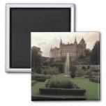 Dunrobin Castle, Scotland 2 Inch Square Magnet