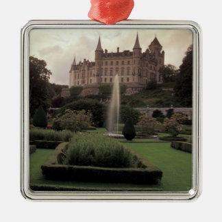 Dunrobin Castle, Scotland Metal Ornament