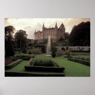 Dunrobin Castle, Scotland Poster