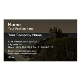 Dunsky Castle, Pitlochrie (i.e. Portpatrick), Scot Business Card Templates