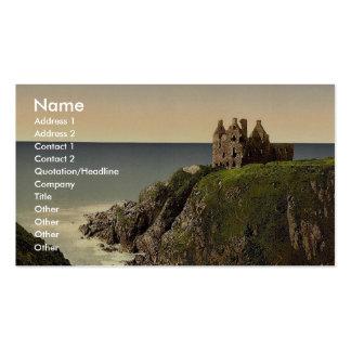 Dunsky Castle, Pitlochrie (i.e. Portpatrick), Scot Business Card