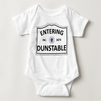 DUNSTABLE MASSACHUSETTS Hometown Mass MA Townie Baby Bodysuit