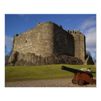 Dunstaffnage Castle, Argyll and Bute, Scotland Poster