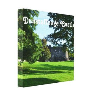 Dunstaffnage Castle Stretched Canvas Print
