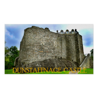 dunstaffnage castle print