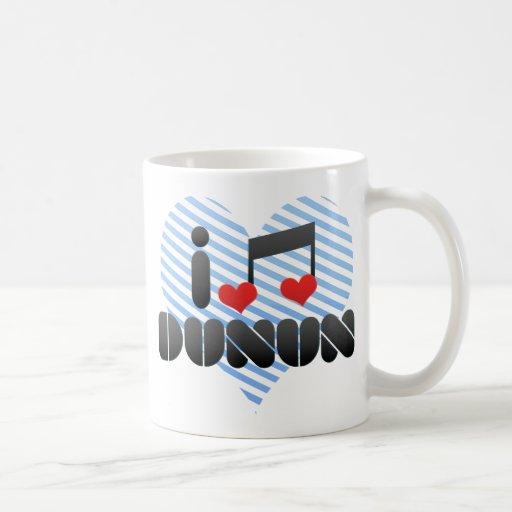 Dunun fan coffee mug