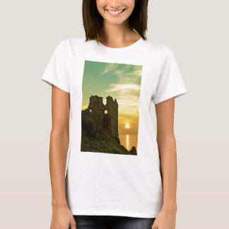 Dunure Castle Sunset T-Shirt