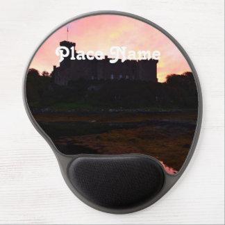 Dunvegan Castle at Dawn Gel Mouse Pad