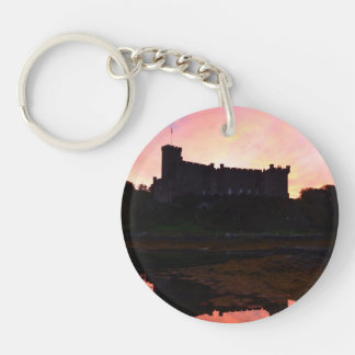Dunvegan Castle at Dawn Acrylic Key Chains