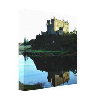 Dunvegan Castle on Skye Canvas Print