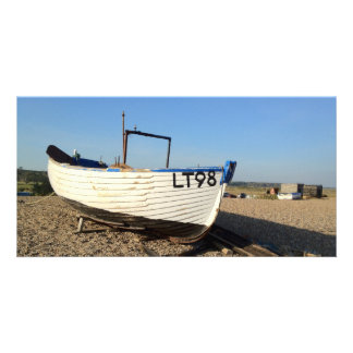 Dunwich Fishing Boat Photo Card Template