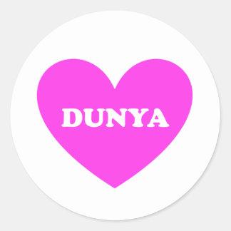 Dunya Classic Round Sticker