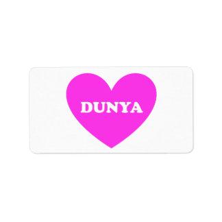 Dunya Label